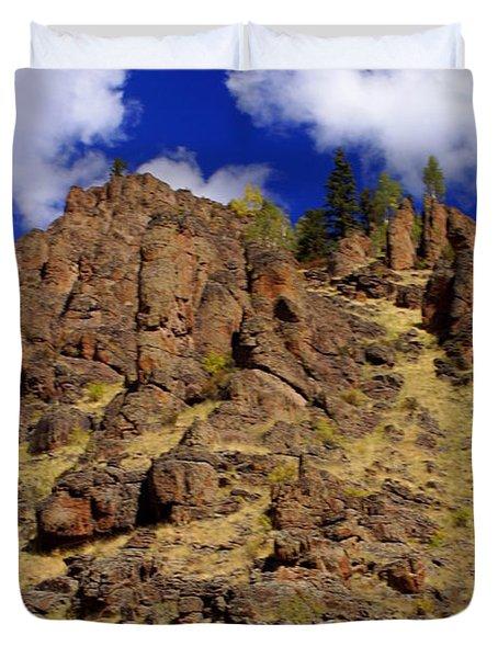 Rocky Butte Duvet Cover by Marty Koch