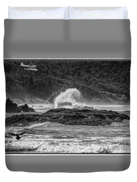 Rocky Coast Duvet Cover
