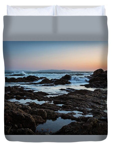Rocky Coast Duvet Cover