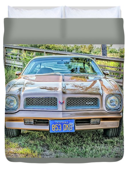Rocky Front Center Duvet Cover by Brian Wright