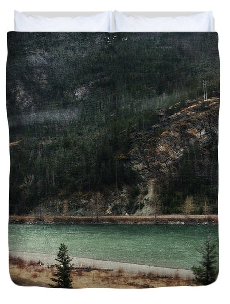 Rocky Mountain Foothills Montana Duvet Cover by Kyle Hanson