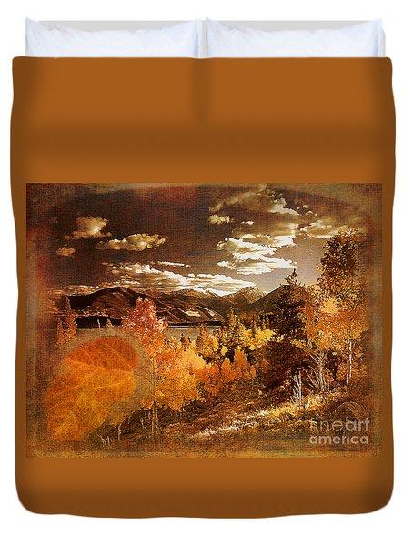Rocky Mountain Gold 2015 Duvet Cover