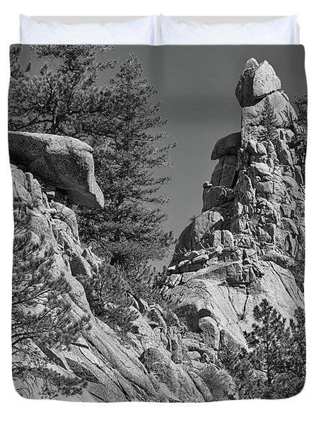 Rocky Mountain St Vrian Pinnacle Duvet Cover