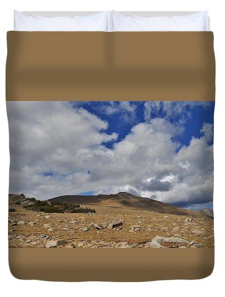 Rocky Mountain Tundra Duvet Cover