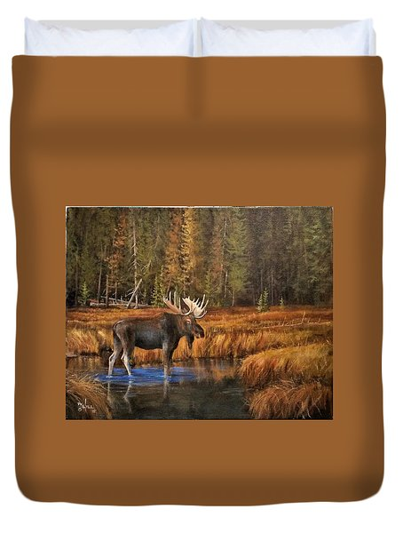 Rocky Mountain Wading Pool Duvet Cover