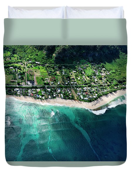 Rocky Point Overview. Duvet Cover