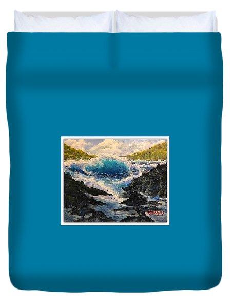 Rocky Sea Duvet Cover