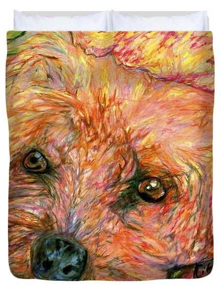 Rocky The Dog Duvet Cover