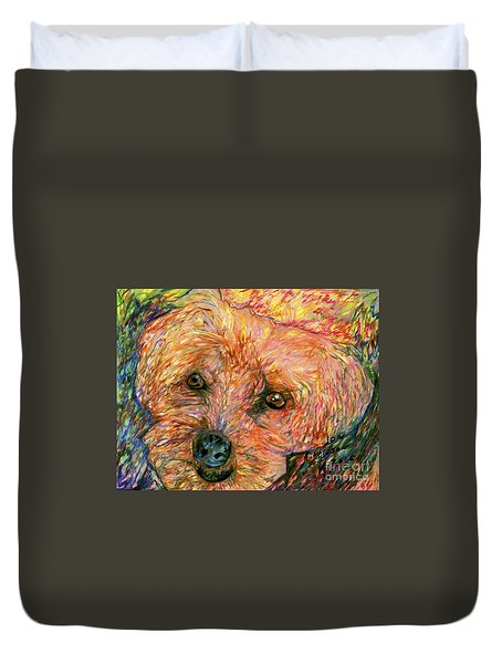 Rocky The Dog Duvet Cover