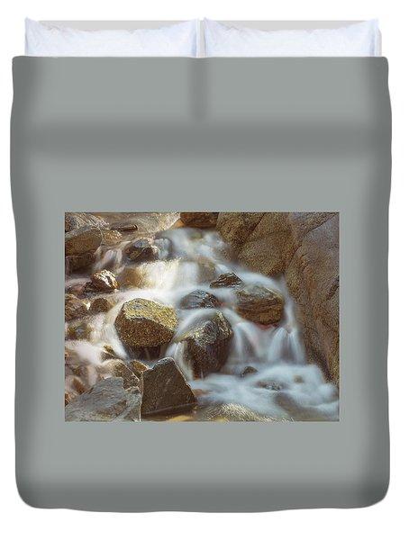 Rocky Water Duvet Cover