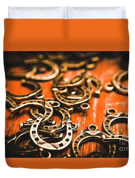 Rodeo Abstract Duvet Cover