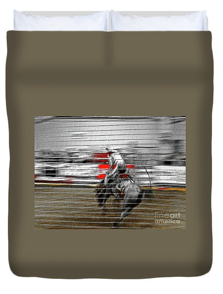 Rodeo Abstract V Duvet Cover
