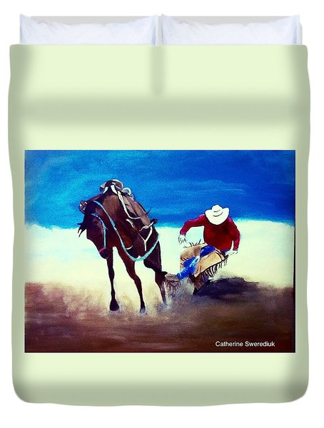 Rodeo Ballet Duvet Cover