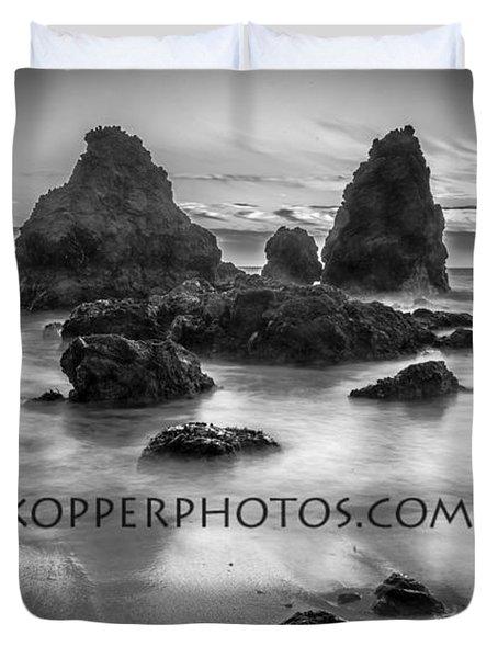 Rodeo Beach  Duvet Cover