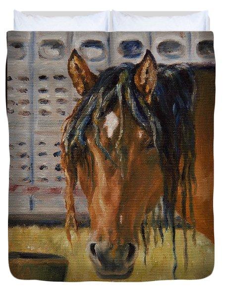 Rodeo Horse Duvet Cover
