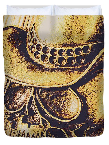 Rodeo Spook Duvet Cover