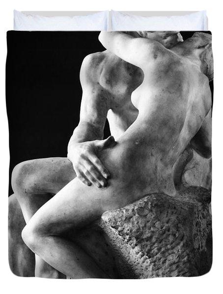 Rodin: The Kiss, 1886 Duvet Cover