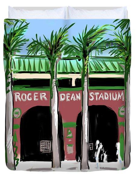 Roger Dean Stadium Duvet Cover