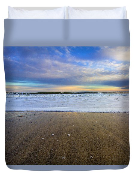 Roger's Beach Shorebreak Duvet Cover