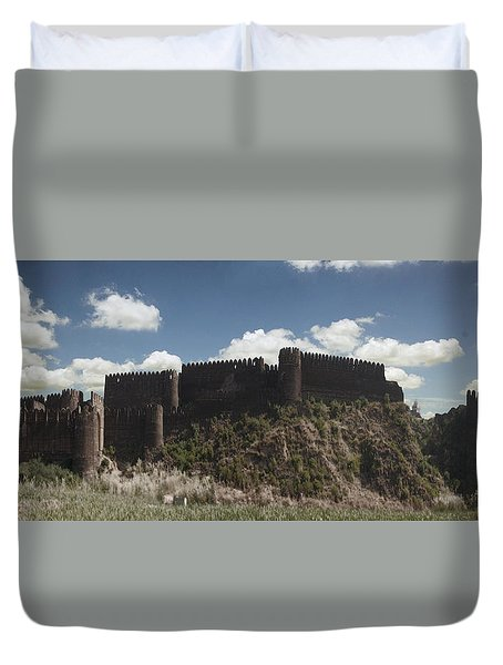 Rohtasfort Duvet Cover by Arsalz Photographer