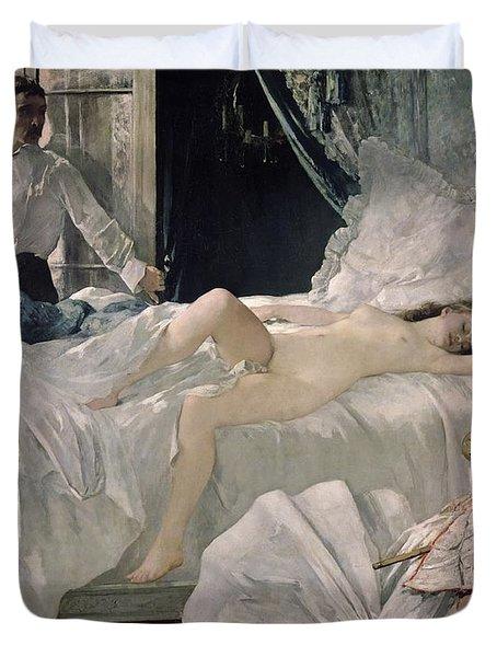 Rolla Duvet Cover by Henri Gervex