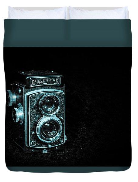 Rolleicord Duvet Cover