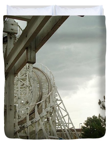 Roller Coaster 5 Duvet Cover
