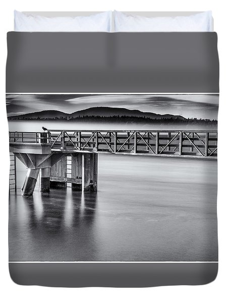 Rolling Fog Duvet Cover by Tony Locke