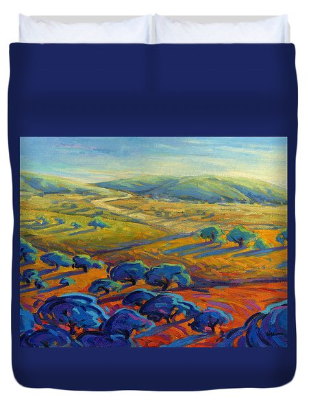 Rolling Hills 3 Duvet Cover