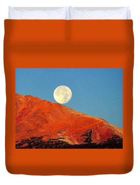 Rolling Moon Duvet Cover