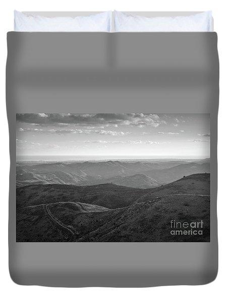 Rolling Mountain Duvet Cover