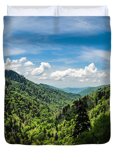 Rolling Mountains Duvet Cover