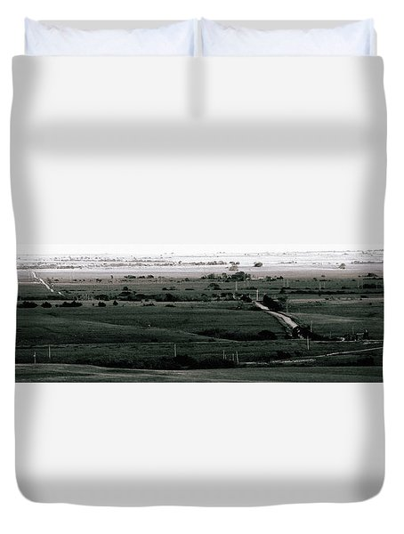 Rolling Roads Duvet Cover by Thomas Bomstad