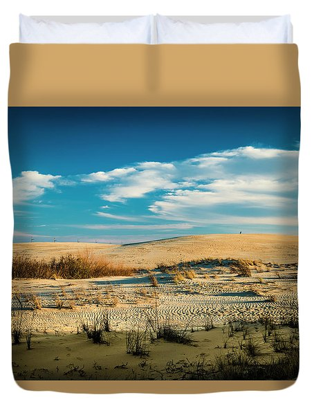 Rolling Sand Dunes Duvet Cover
