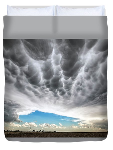 Rolling Sky Duvet Cover