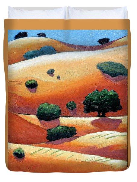 Rolling Trip Panel IIi Duvet Cover
