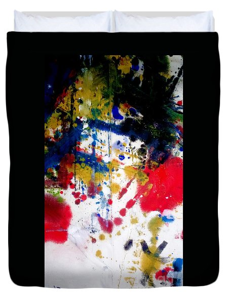Romak Abstract Duvet Cover by Amy Sorrell