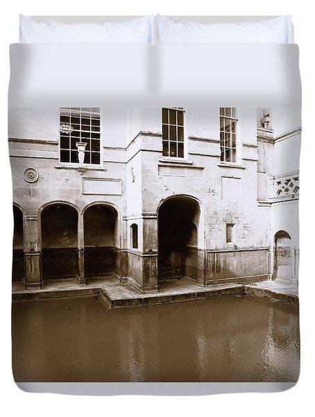 Roman Baths Duvet Cover