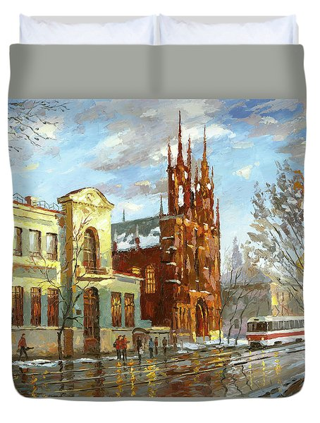 Roman Catholic Church Duvet Cover