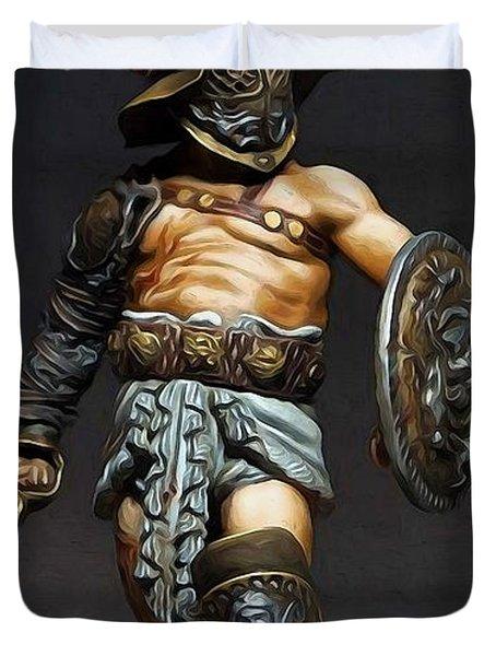 Roman Gladiator - 02 Duvet Cover