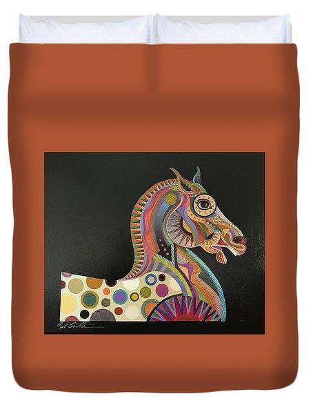 Roman Horse Duvet Cover