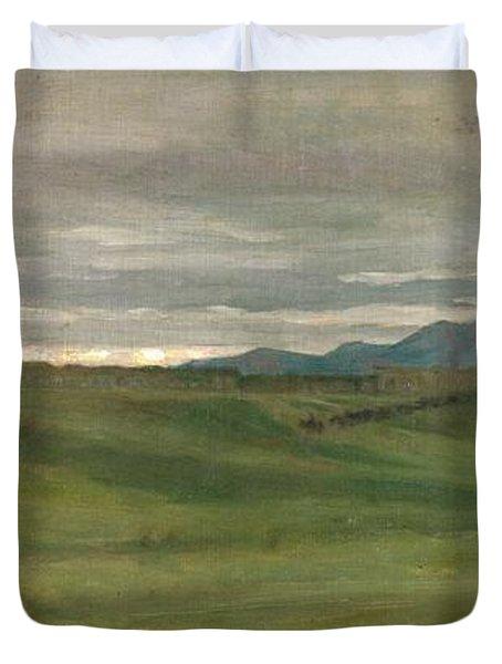 Roman Landscape Duvet Cover