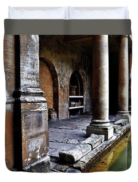 Roman Pillars  Duvet Cover