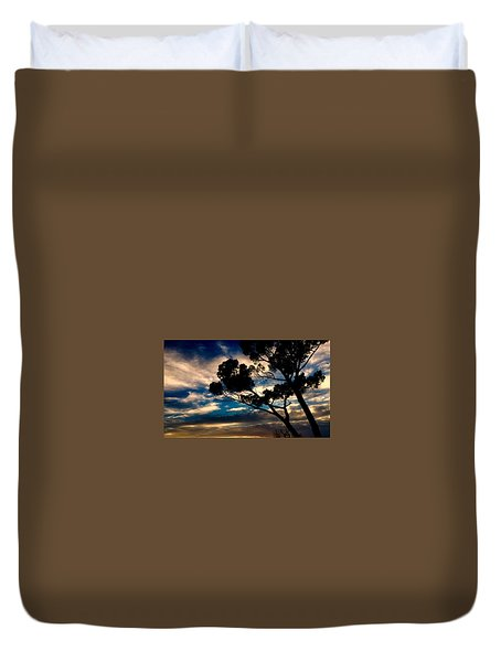 Roman Sunset Duvet Cover