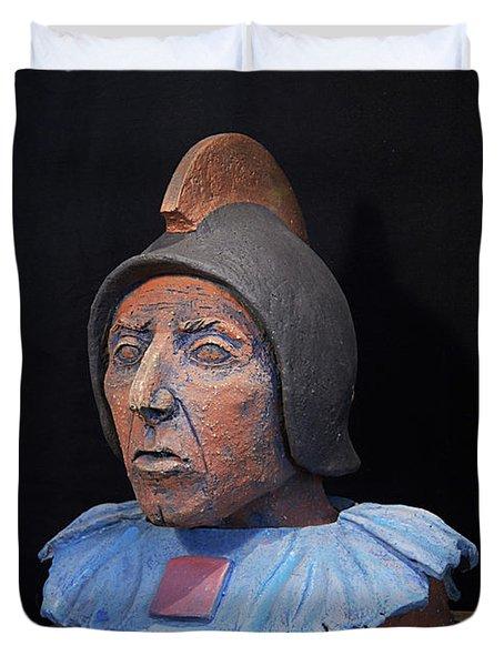 Roman Warrior Roemer - Roemer Nettersheim Eifel - Military Of Ancient Rome - Bust - Romeinen Duvet Cover