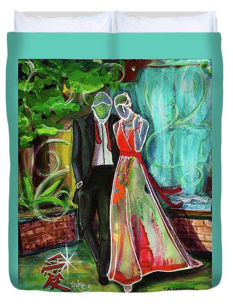 Romance Each Other Duvet Cover