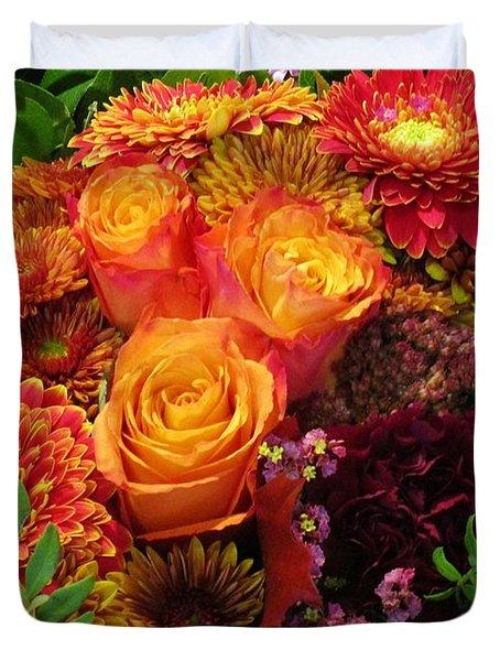 Romance Of Autumn Duvet Cover