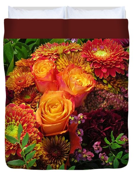 Romance Of Autumn Duvet Cover