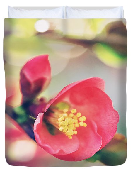 Romancing Spring II Duvet Cover by Kharisma Sommers