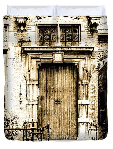 Romantic Bruges Duvet Cover